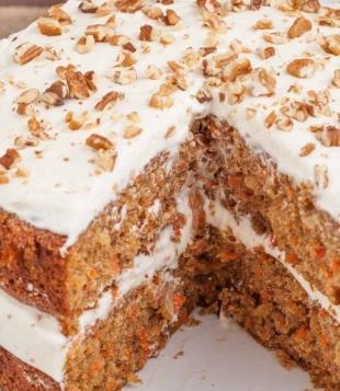 Tyra's Heavenly Gluten-Free Carrot Cake Recipe