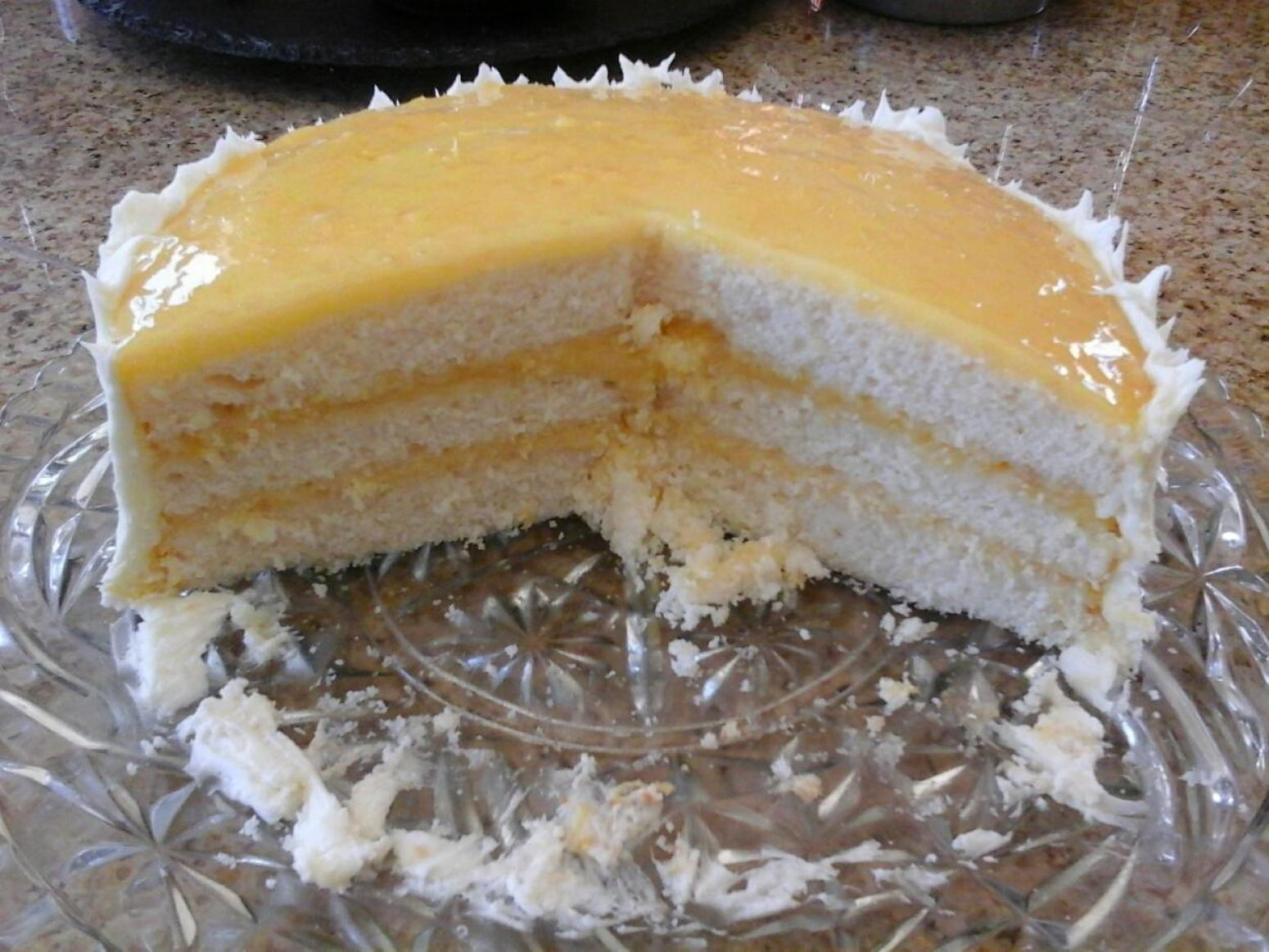 Layered Cake Recipes With Fillings: Lemon Curd Filling For A Three Layer Cake Recipe