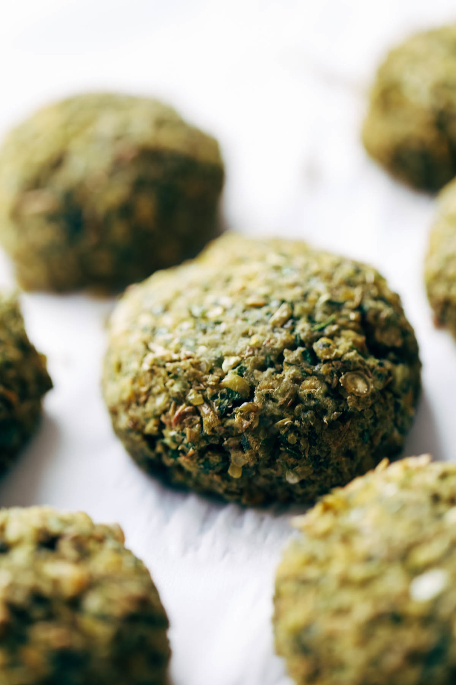 Simple 5 Ingredient Baked Falafel Recipe | Just A Pinch Recipes