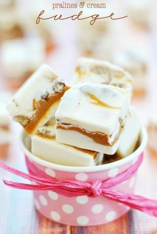 Pralines & Cream Fudge Recipe