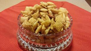 Caramel Crispix in Microwave Recipe