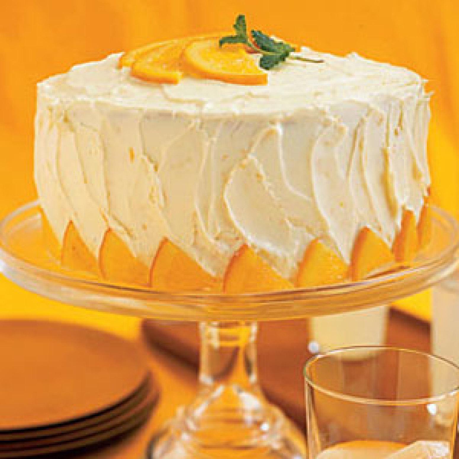 Orange Layer Cake Recipe 2 | Just A Pinch Recipes