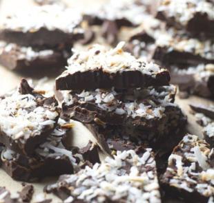 Coconut Mocha Bark Recipe