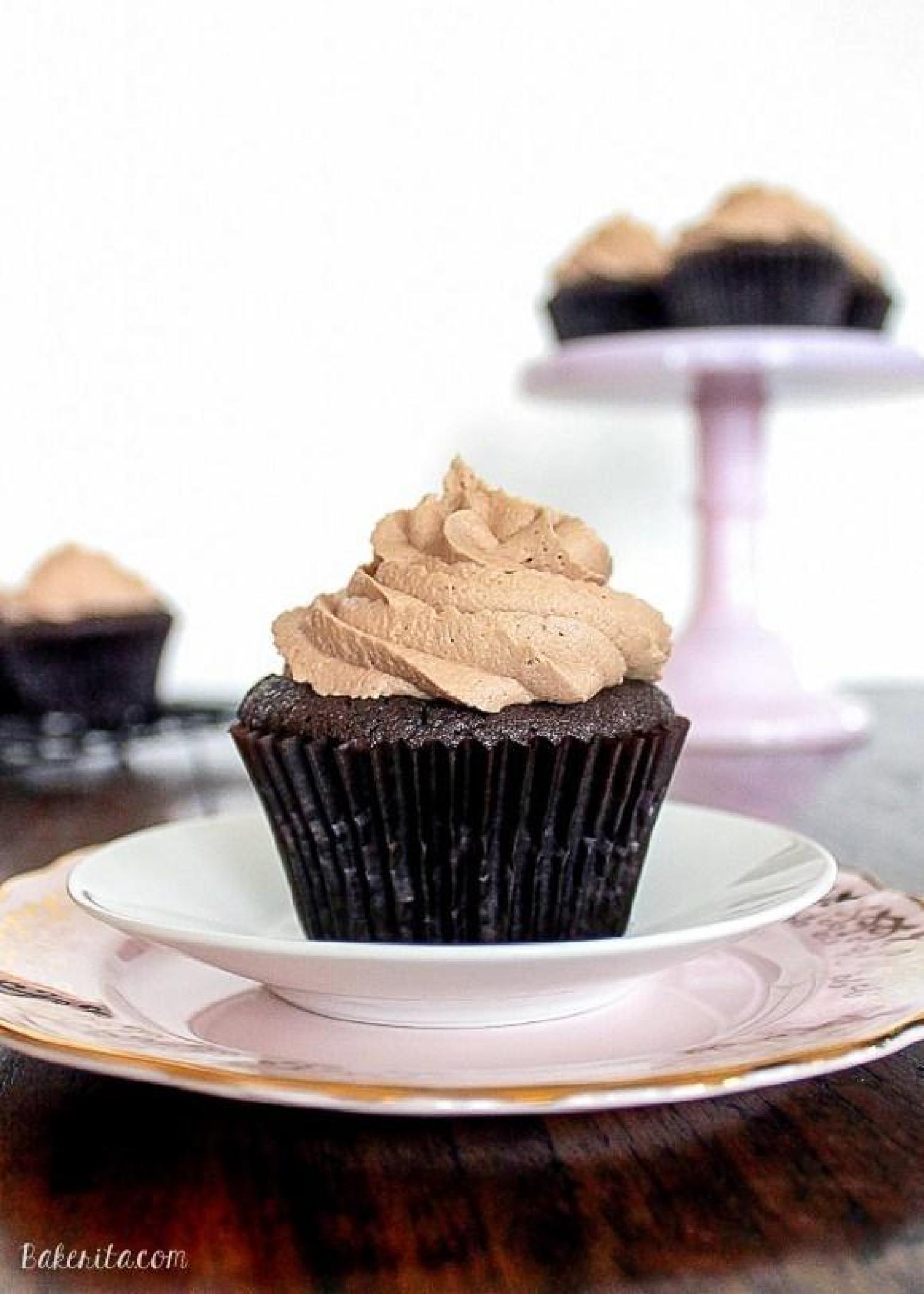ferrero rocherstuffed chocolate cupcakes recipe just a pinch recipes