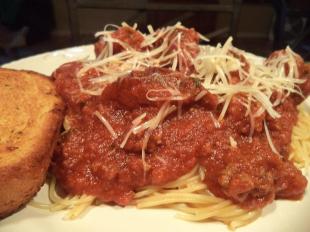 My Semi Homemade Meaty Spaghetti Sauce Recipe