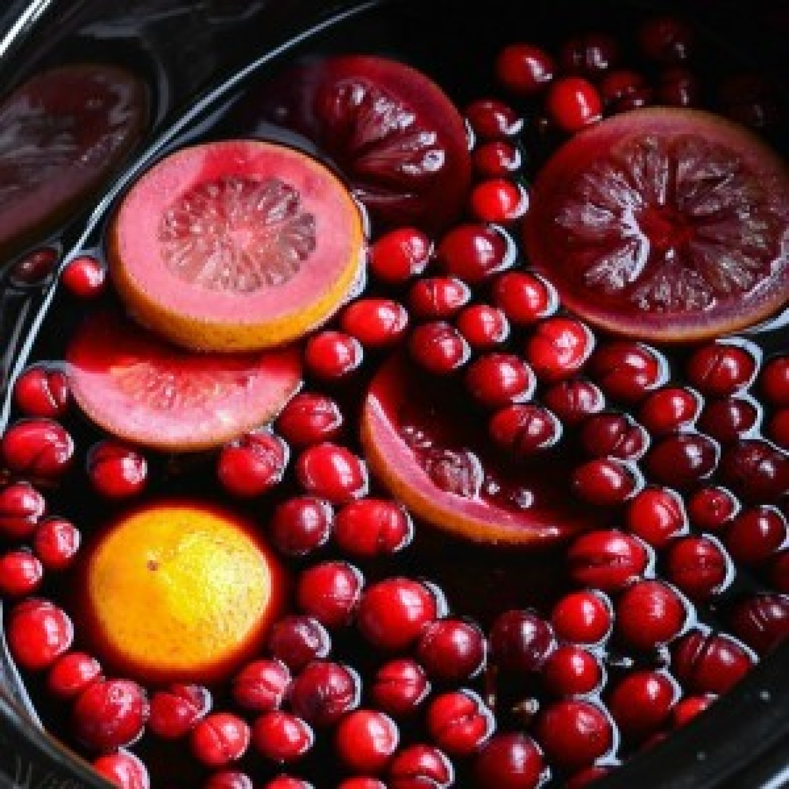 Crock Pot Spiced Orange Cranberry Sangria Recipe | Just A Pinch ...