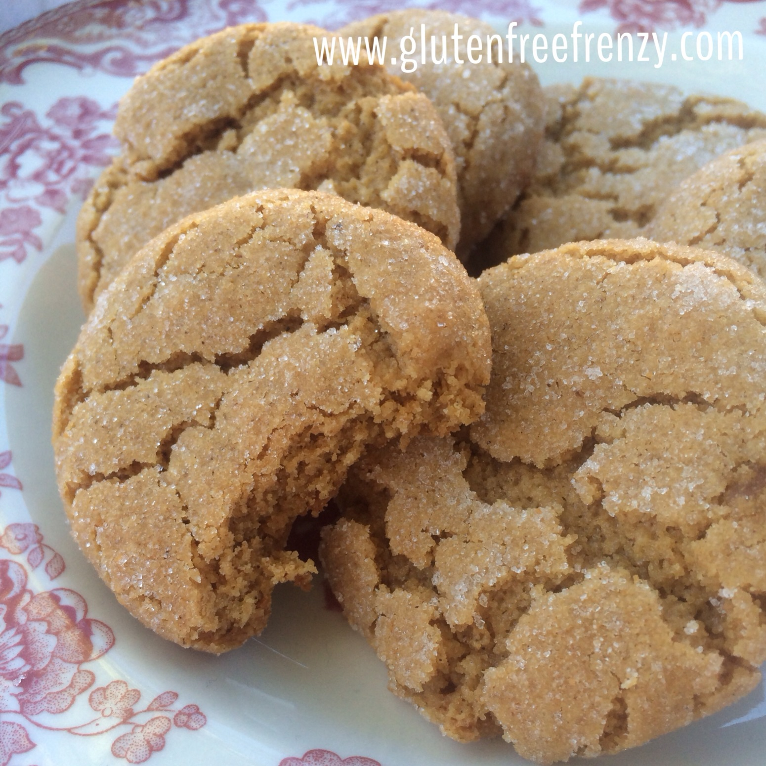 Soft and Chewy Ginger Molasses Cookies Recipe 4   Just A Pinch Recipes