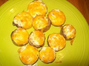 Cheesy Stuffed Mushrooms Recipe