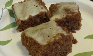 Old Fashioned Gingerbread Cake Recipe