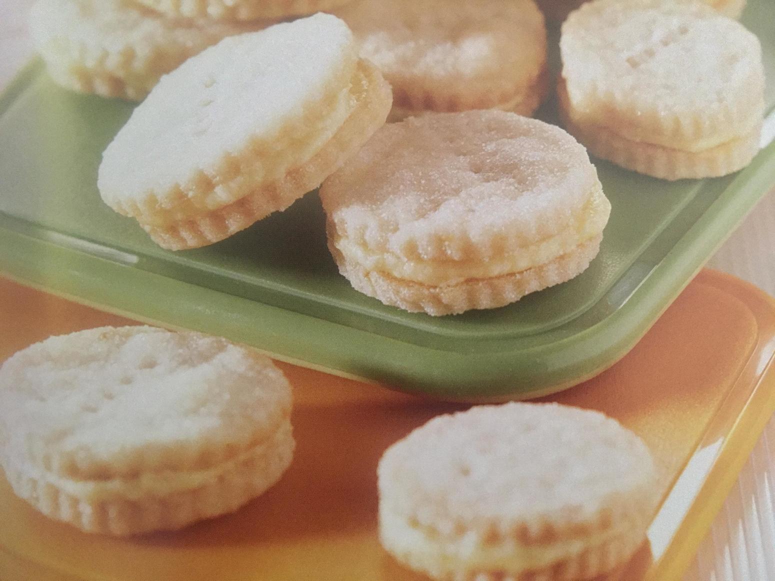 Mini Lemon Sandwich Cookies Recipe | Just A Pinch Recipes