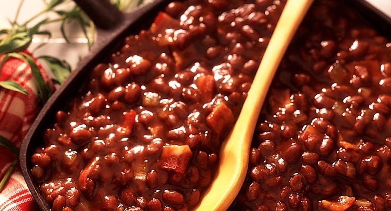 Grandma's Baked beans Recipe | Just A Pinch Recipes