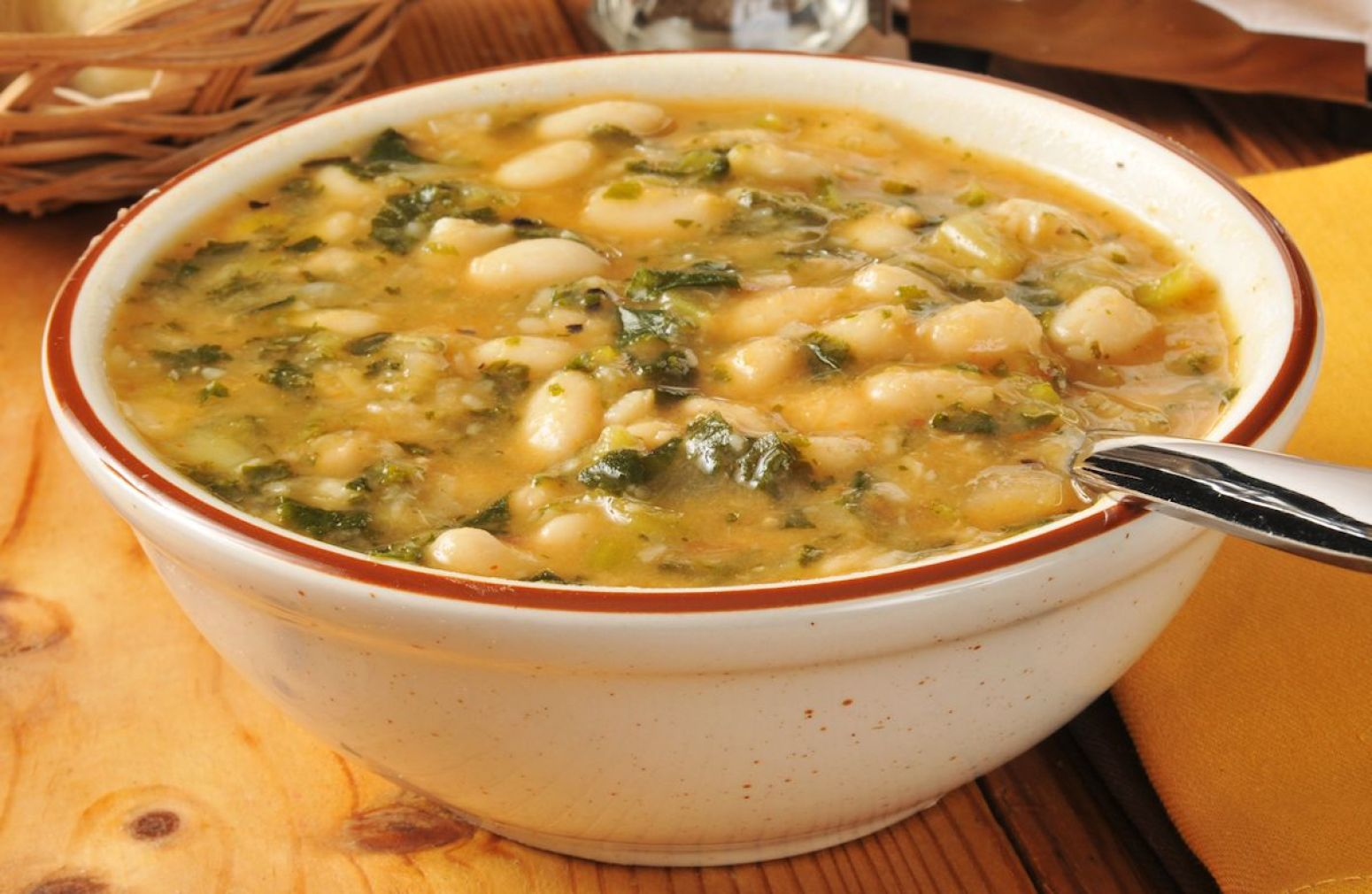 Winter White Bean and Italian Sausage Soup Recipe | Just A Pinch ...