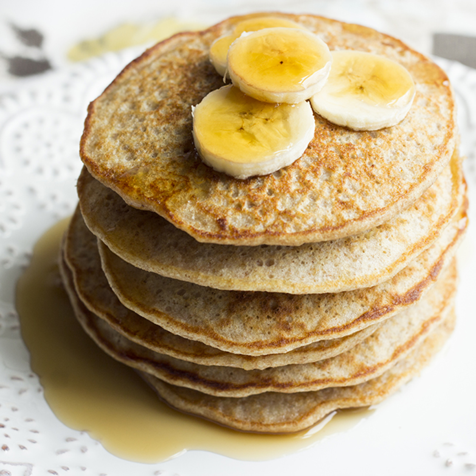 Recipe: Quinoa Banana Pancakes | Just A Pinch Recipes