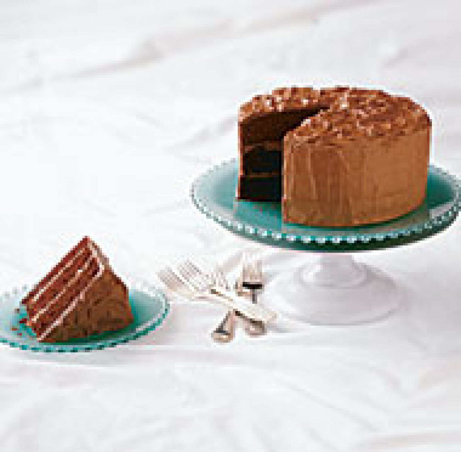 Chocolate Layer Cake with Mocha Milk Chocolate Frosting ...
