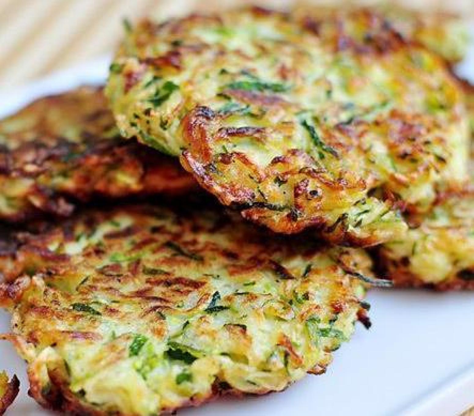 ZUCCHINI LATKES SALLYE Recipe | Just A Pinch Recipes