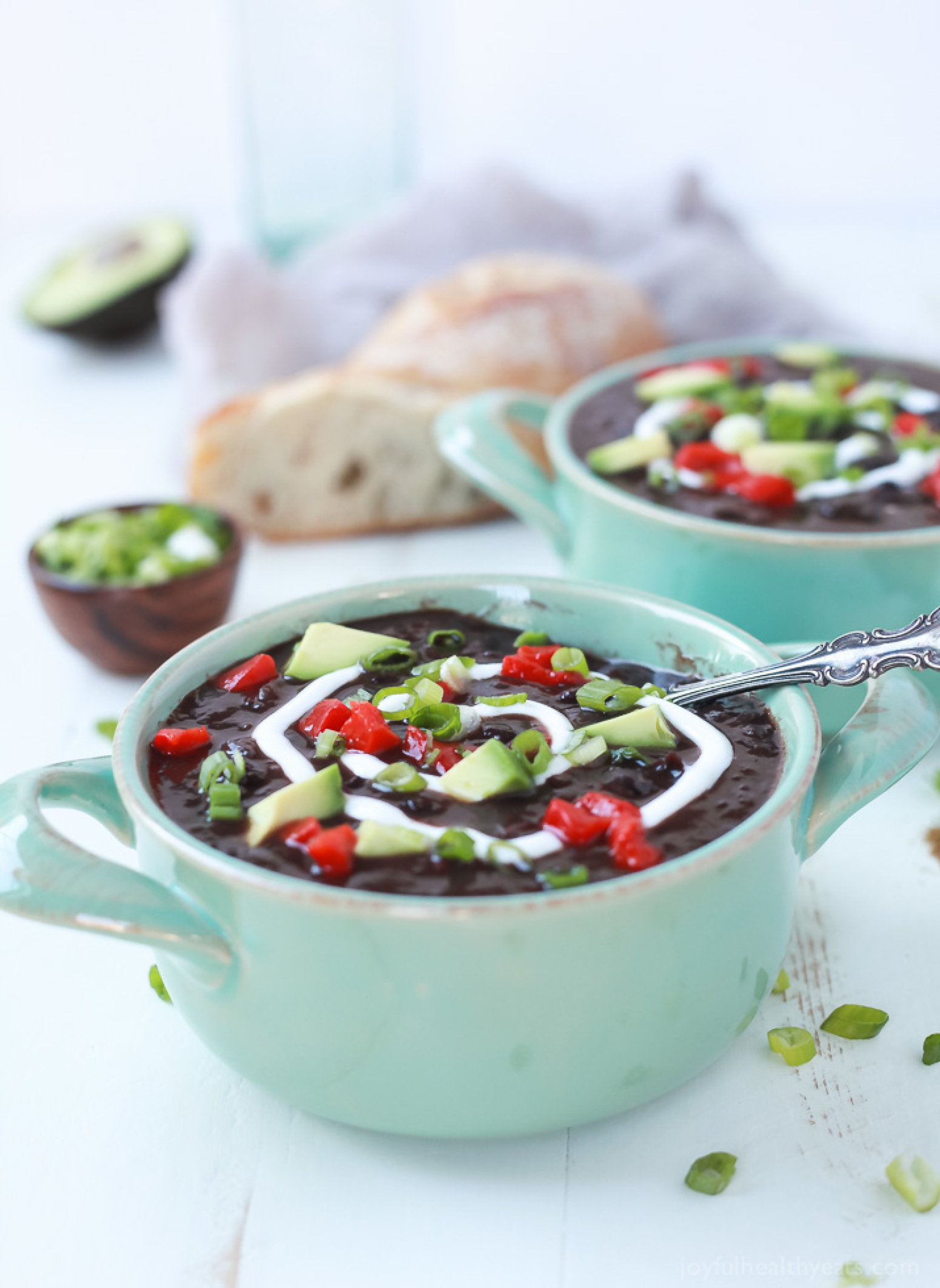 how to cook black beans in a crock pot