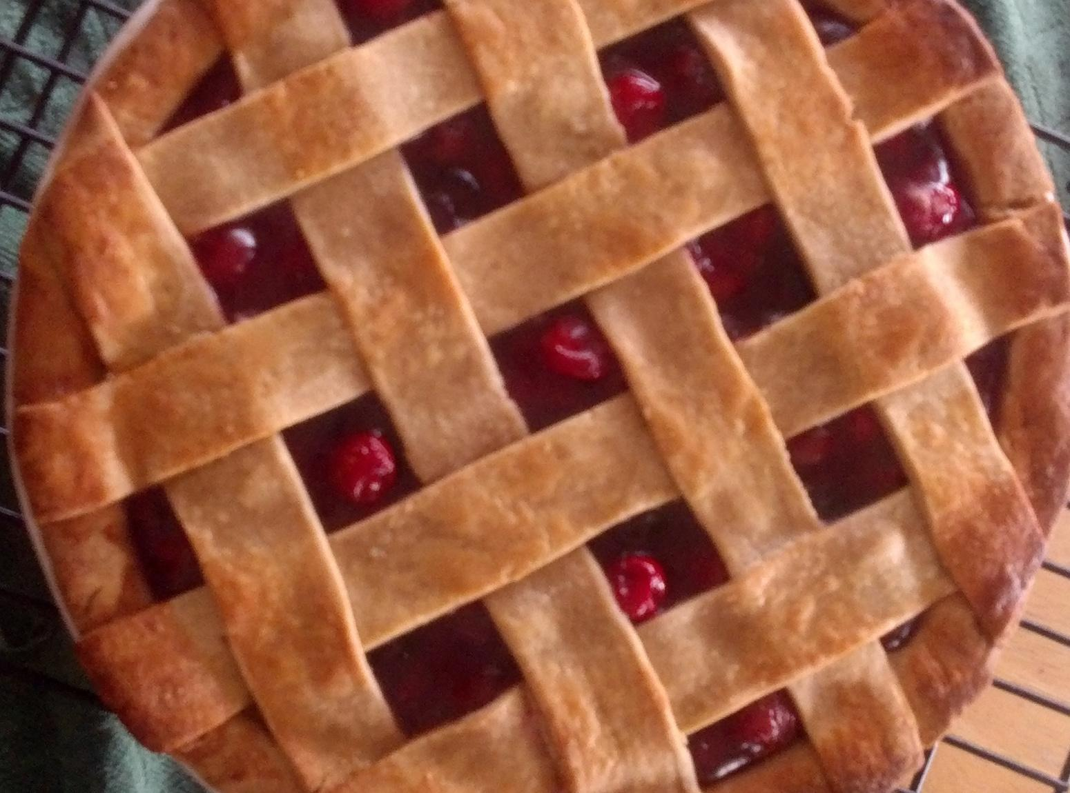 Deep Dish Cherry Pie Recipe