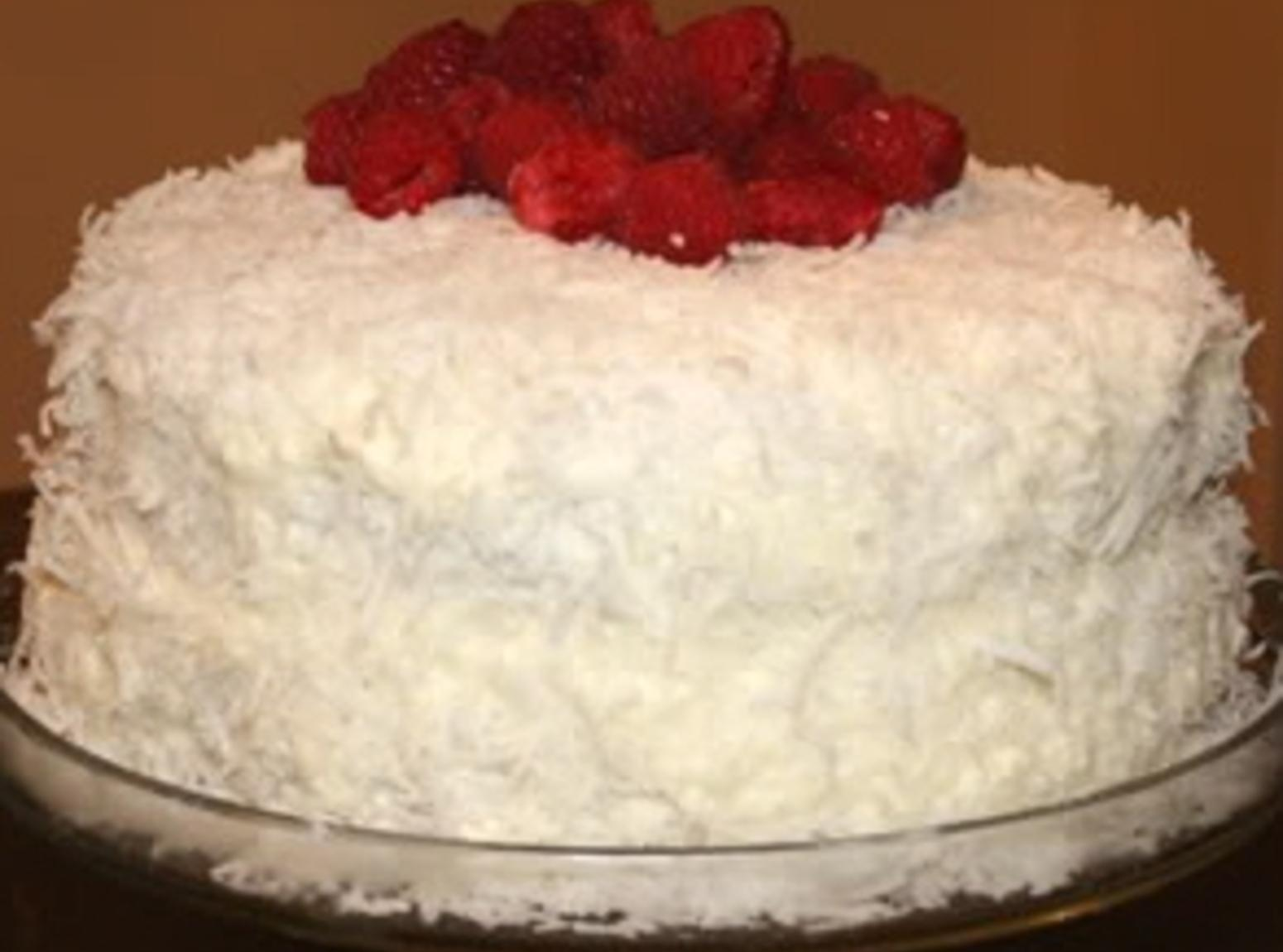 My Old Fashioned Coconut Cake Recipe