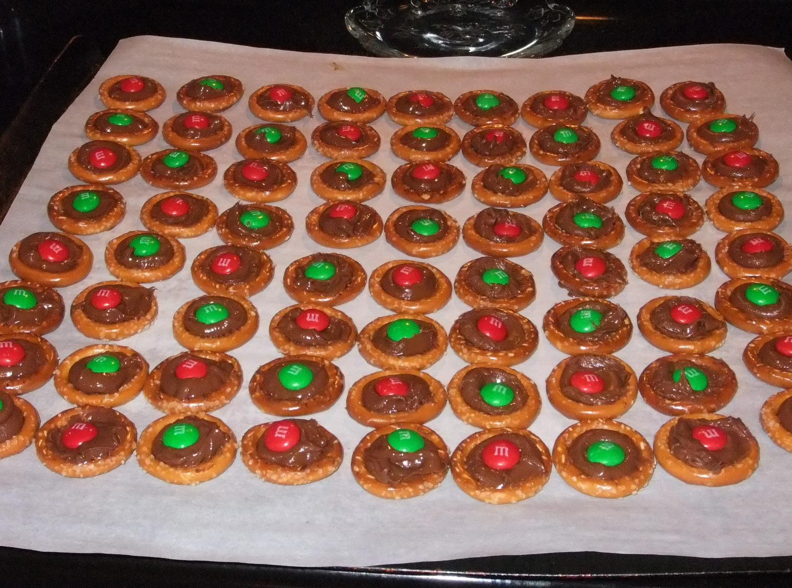 clancy s chocolate filled pretzel rings recipe just a
