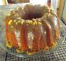 Black Walnut Pound Cake with Caramel Nut Glaze
