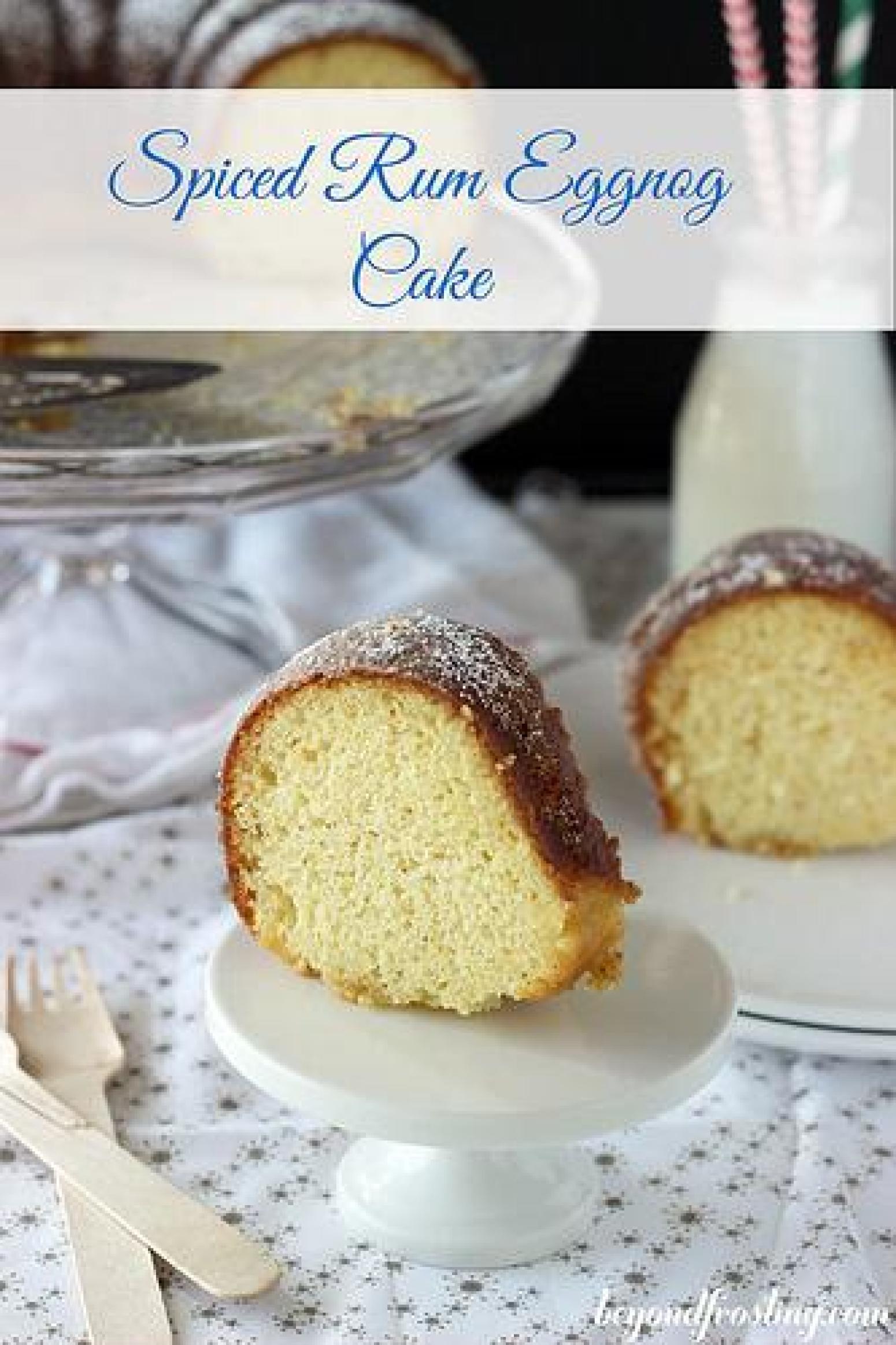 Spiced Eggnog Bundt Cake Recipe