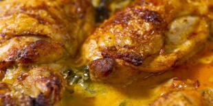 LEMON BUTTER CHICKEN THIGHS Recipe