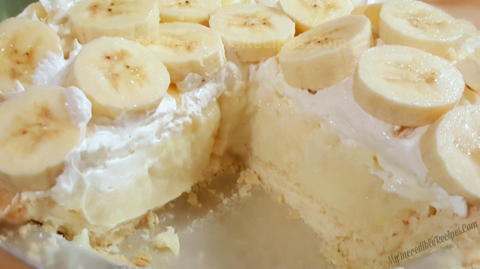 Old Fashioned Banana Cream Pie Recipe 9 Just A Pinch Recipes