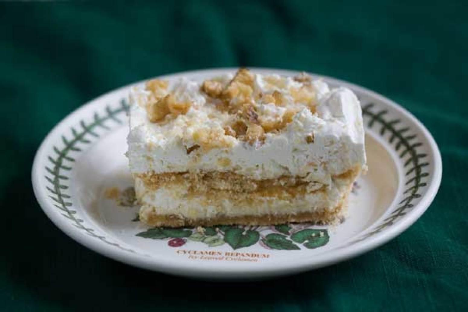 Whipping Cream Butter Cake