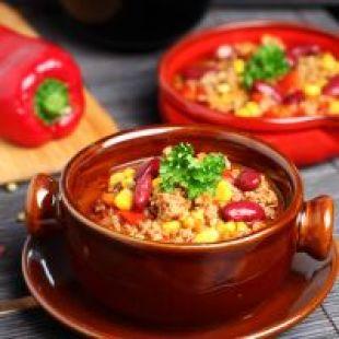 Ground Beef Crockpot Chili Recipe