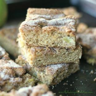Apple Cinnamon Snickerdoodle Cookie Bars Recipe