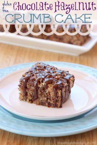 Gluten-Free Chocolate Hazelnut Crumb Cake Recipe