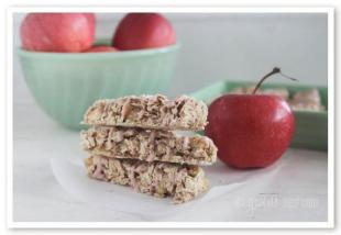 Candied Apple Cinnamon Granola Bars Recipe