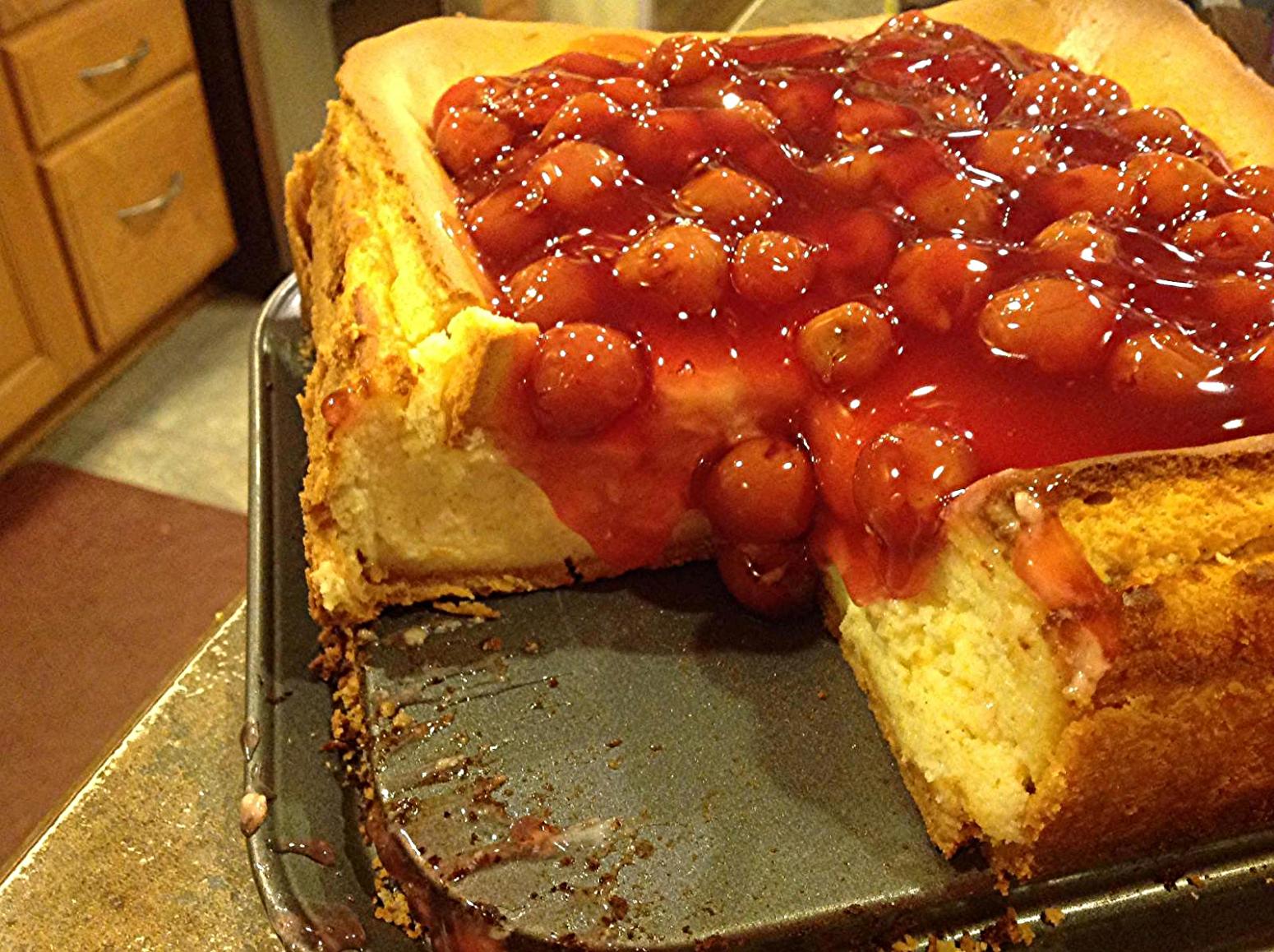 CHEESECAKE SUPREME Recipe   Just A Pinch Recipes