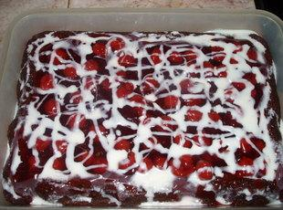 Abe's Cherry Chocolate Cake Recipe