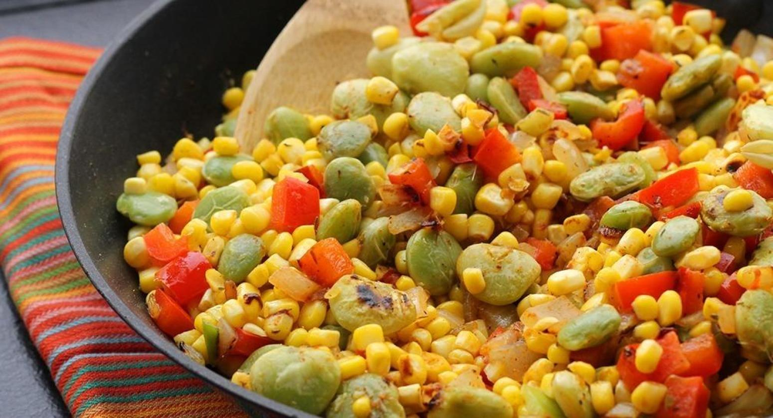 Lima Beans And Corn Succotash Recipe
