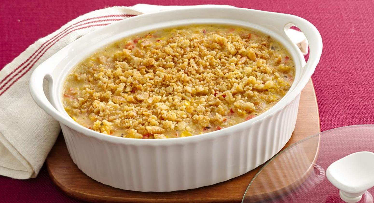 scalloped corn recipe just a pinch recipes