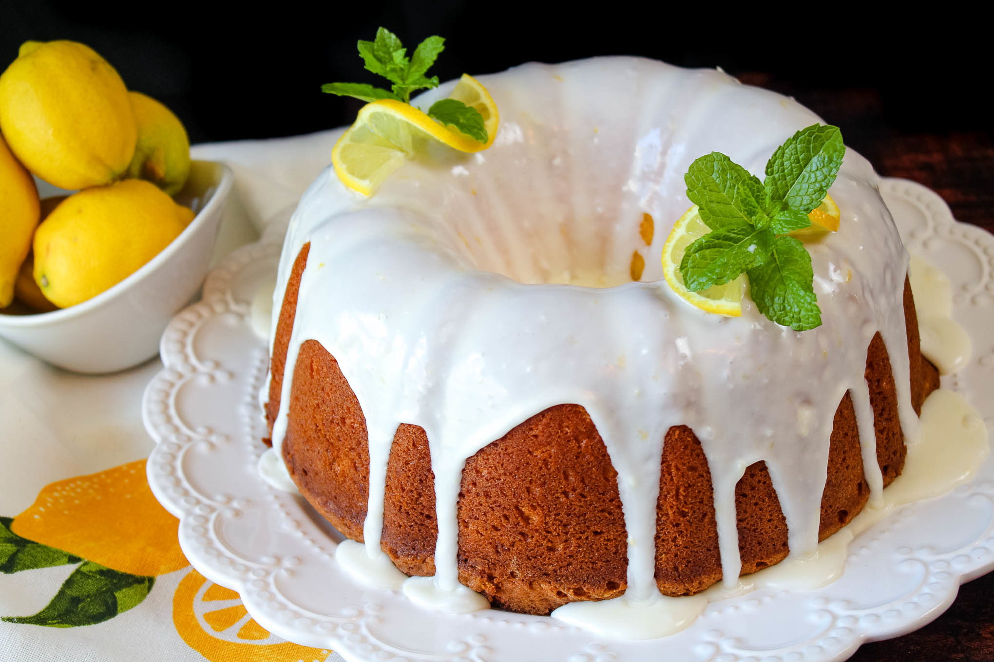 Lemon Lovers Pound Cake Recipe