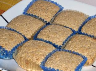 Wheat Germ and Cornmeal Muffins Recipe