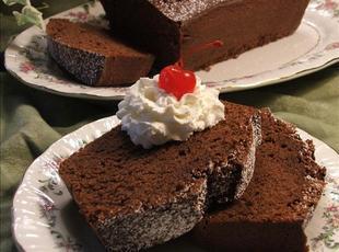 Mexican Chocolate Pound Cake Recipe