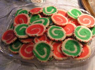 Christmas Swirl Cookies - Dee Dee's Recipe