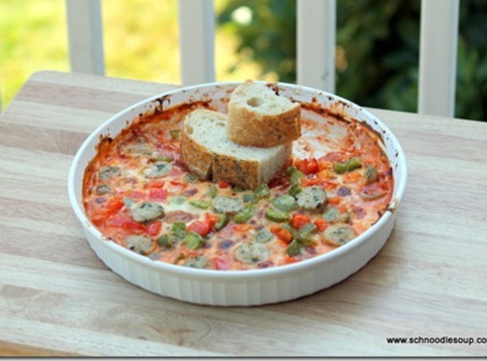Hot Pizza Dip Recipe | Just A Pinch Recipes
