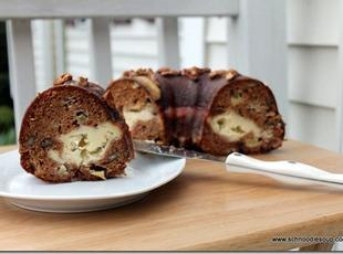 Apple, Praline and Cream Cheese Bundt Cake Recipe
