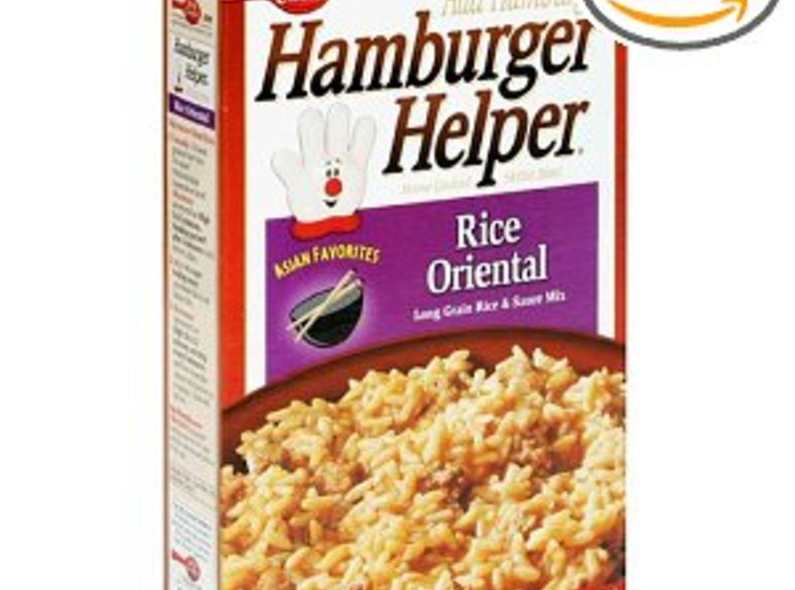 Rice Oriental (simlar to the Hamburger Helper) Recipe