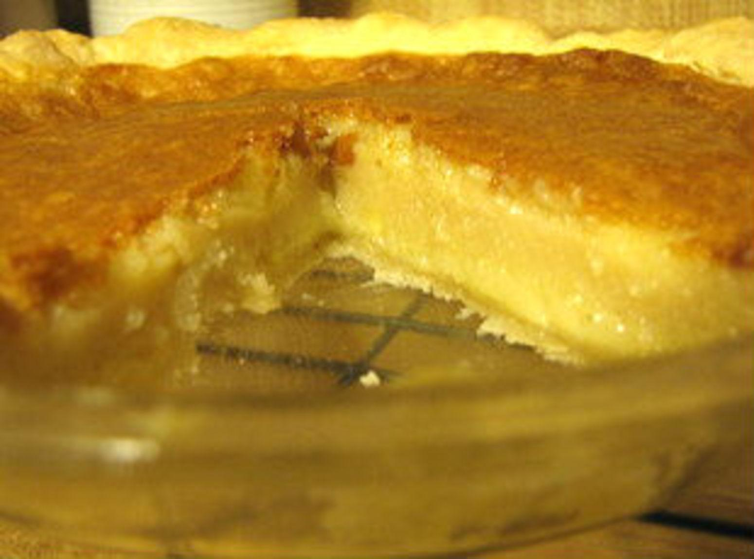 Karen's Buttermilk Pie Recipe