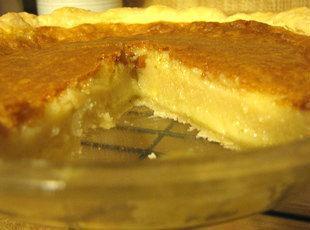 Karen's Buttermilk Pie Recipe