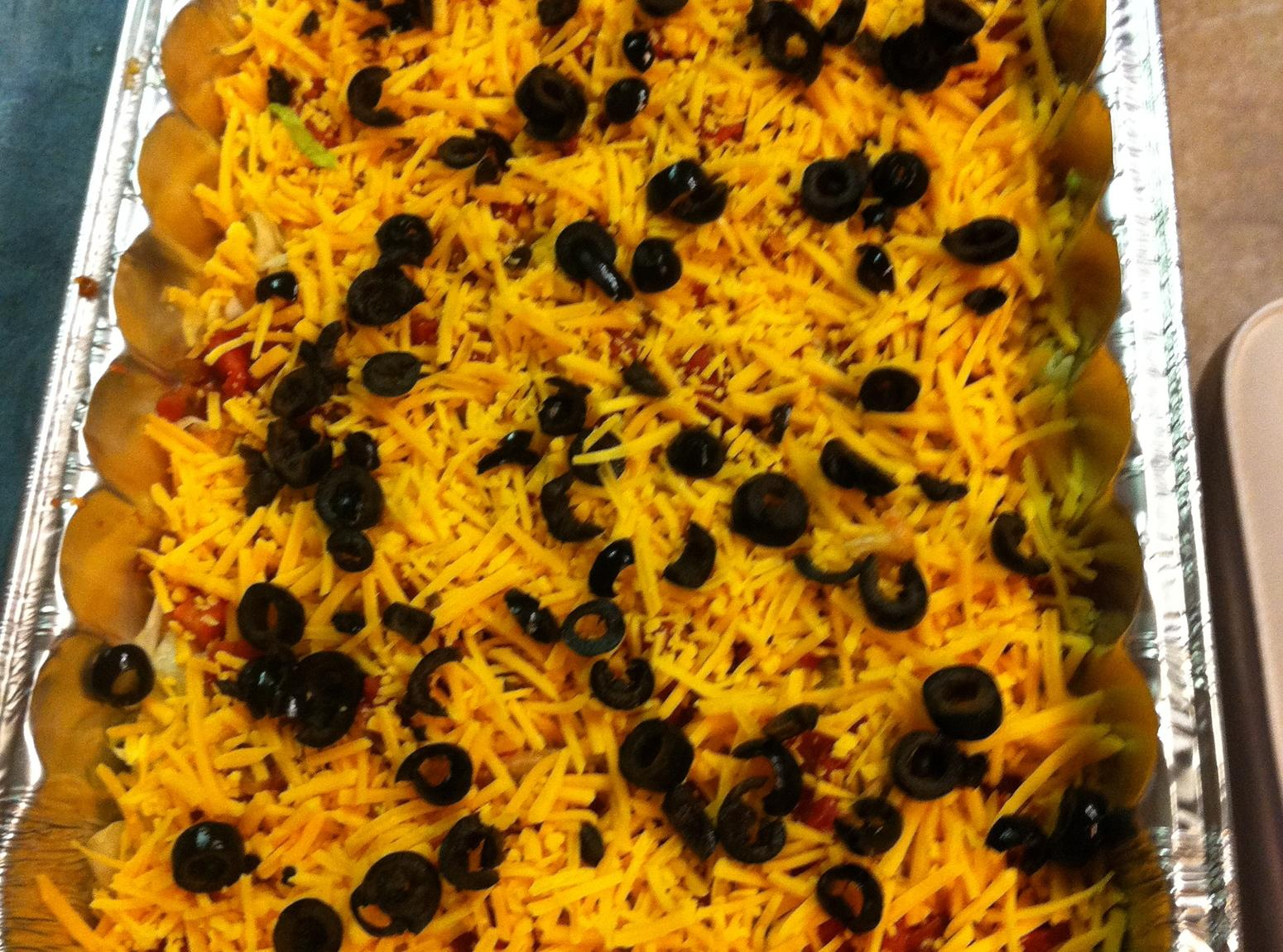 Layered Taco Dip Recipe