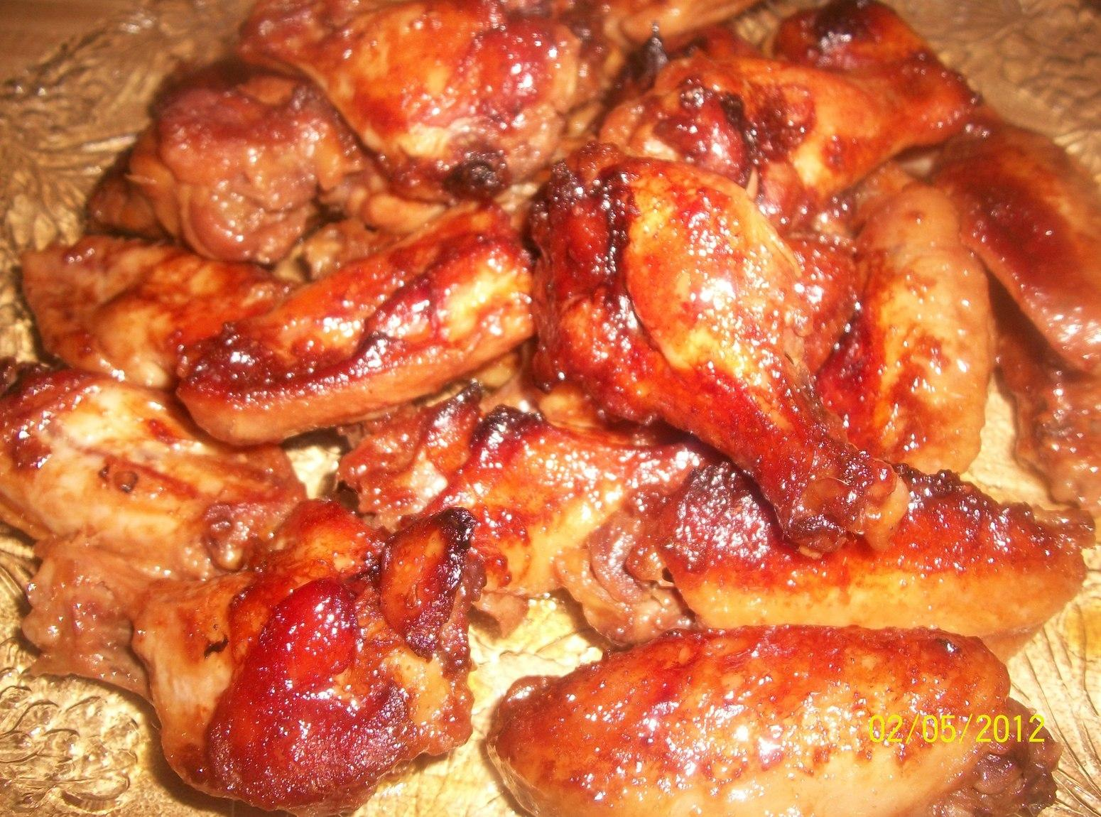 Slow Baked Chicken Wings Recipe