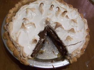 Grandma Jackson's Chocolate Cream Pie Recipe