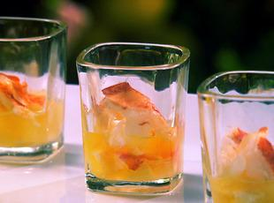 Butter Poached Lobster Shooters Recipe