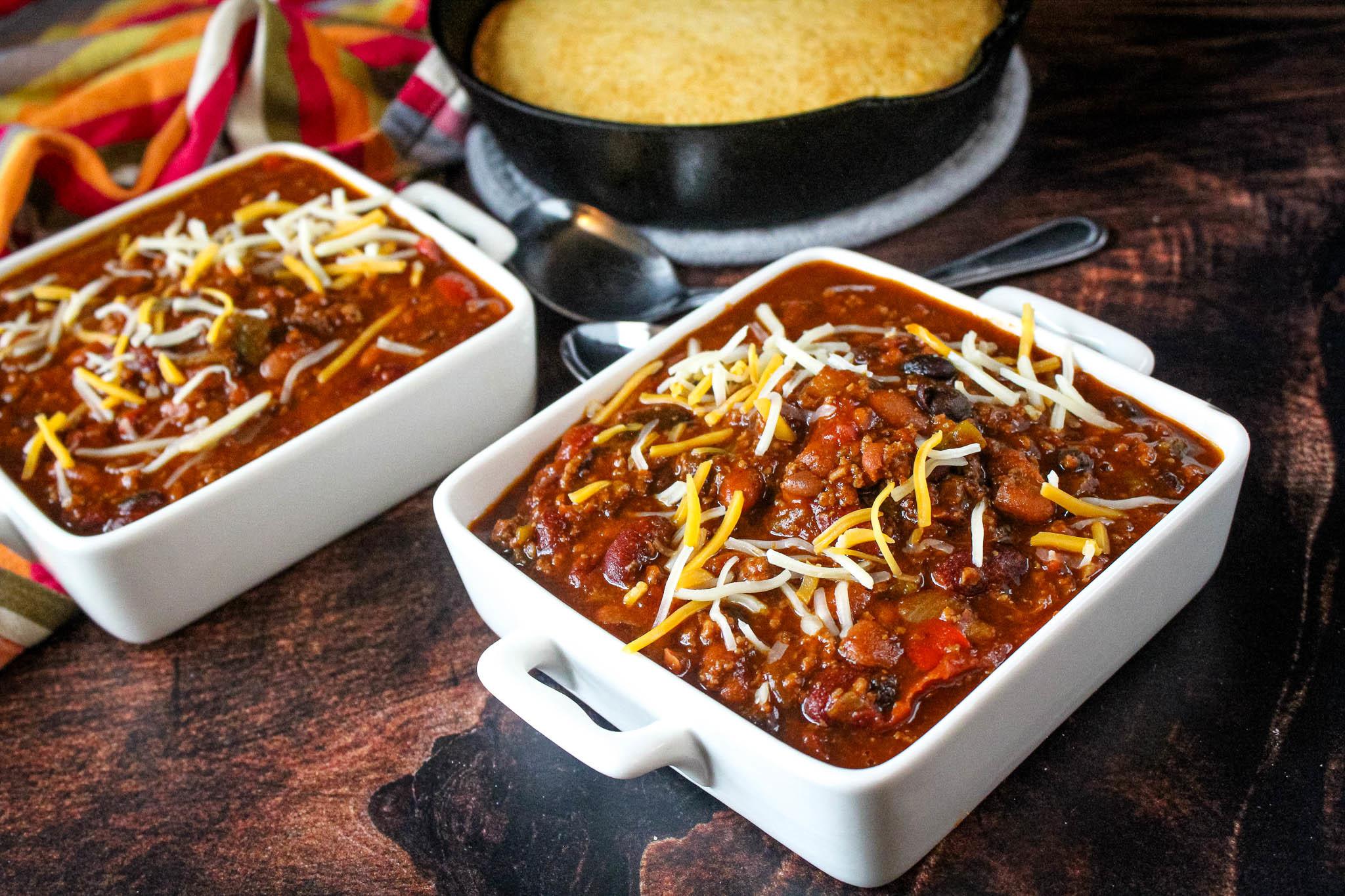 Super Bowl Award Winning Chili Beans Recipe